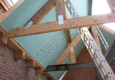 AGN Toitures - Dakwerken - Charpente + panneaux Unilin