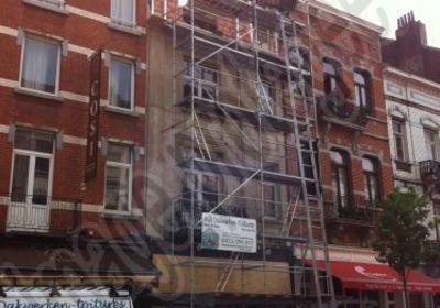 AGN Toitures - Dakwerken - Réhausse de façade